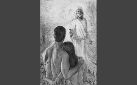 God Speaks to Adam and Eve